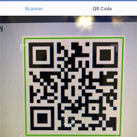 Facebook Scan QR Code step 3